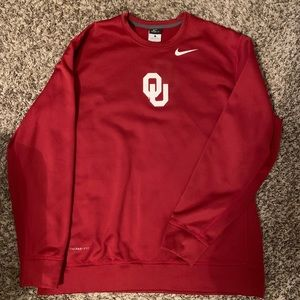 Nike Sweatshirt OU Sooners Large